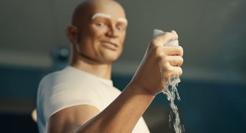 Have fun with mr Clean