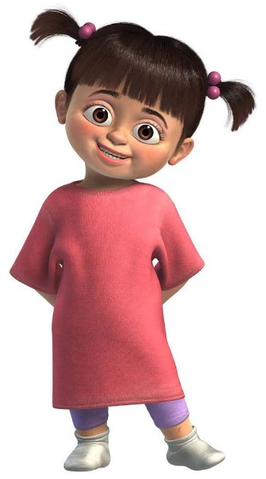 Boo from Monsters Inc