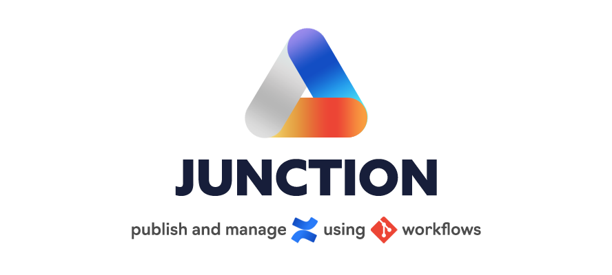 Junction, publish and manage Confluence with git workflows