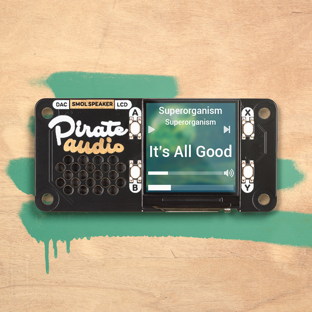 Pirate Audio Display Boards