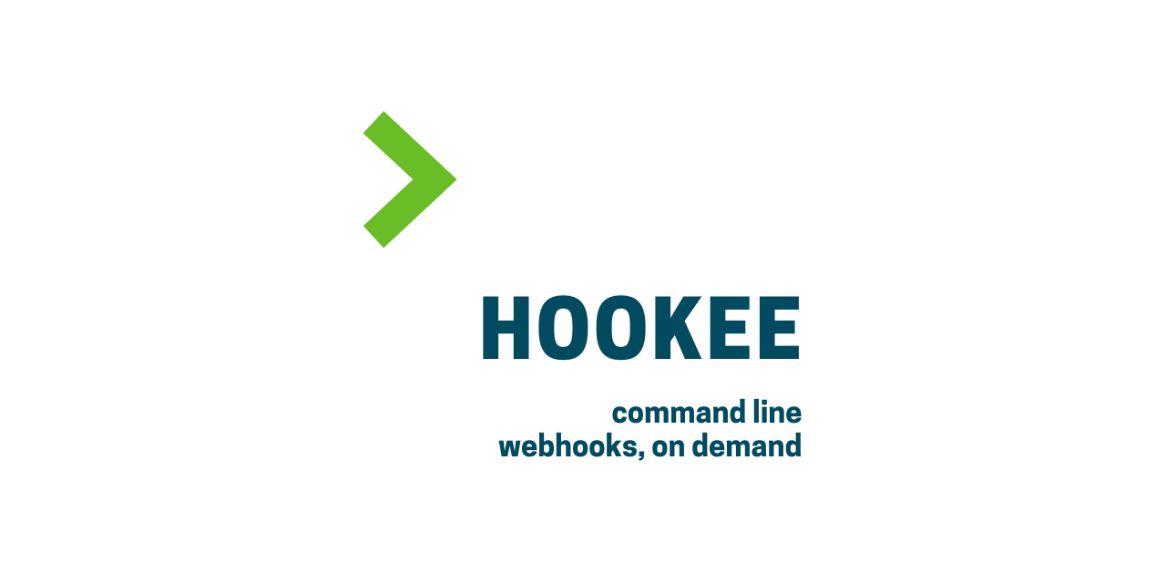 hookee - command line webhooks, on demand