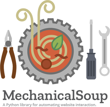 MechanicalSoup. A Python library for automating website interaction.