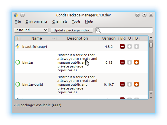Conda Package Manager