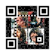 """Animated 3-H QR code encoding """"The Beatles -- Let It Be"""""""