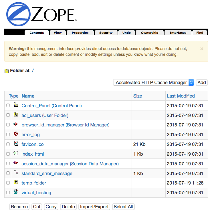https://github.com/aclark4life/zope2_bootstrap/raw/master/screenshot2.png