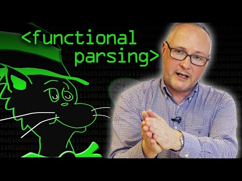 Functional or Combinator Parsing explained by Professor Graham Hutton.
