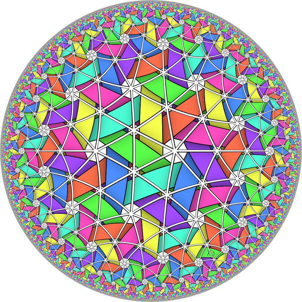 Hyperbolic weave structure