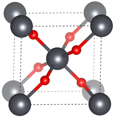 SnO2 crystal structure